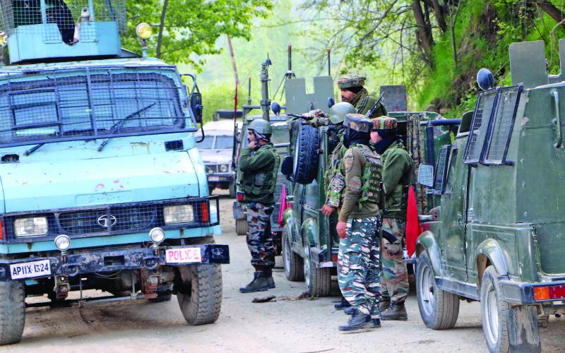 उत्तरी काश्मिरमा भिडन्त पाँच जना सुरक्षाकर्मीको मृत्यु