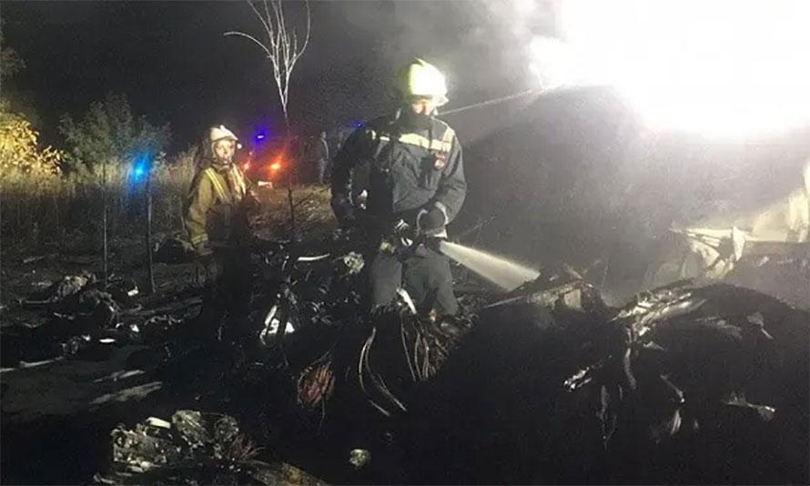 युक्रेनमा एक सैन्य विमान दुर्घटना २२ को मृत्यु दर्घटनाको कारण खुलेको छैन