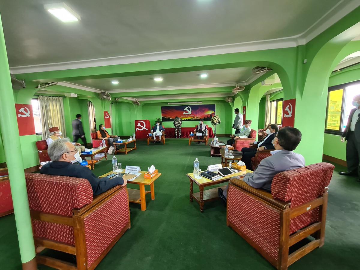 भोलि बालुवाटारमा बस्नेगरी नेकपा सचिवालय बैठक स्थगित