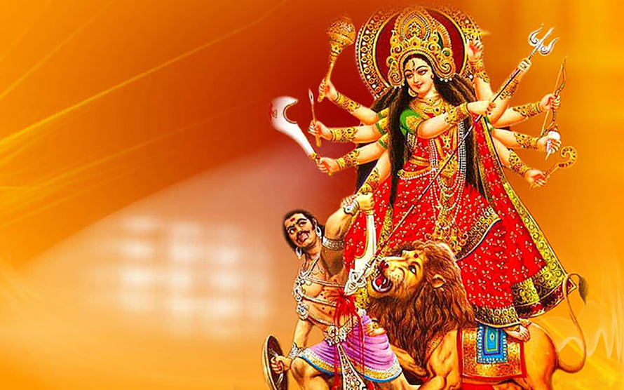 बडादशैंको आज नवौं दिन महानवमी दुर्गा भवानीको पूजा आराधना गरी बलि चढाउने