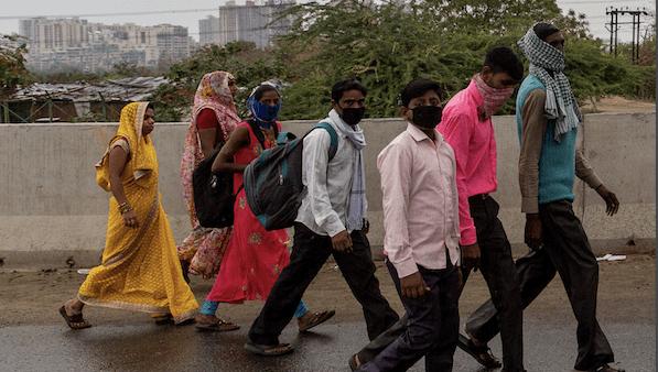 भारतमा कोरोना बढेसँगै रौतहट नाकामा स्वदेश फर्किनेको चाप