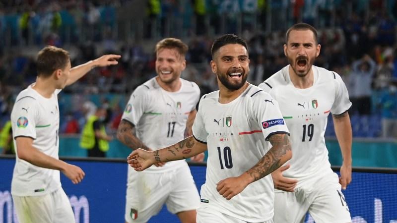 युरो २०२० मा इटालीले टर्कीलाई ३-० पराजित, आज राति बेल्जियम र रसियाबीच प्रतस्पर्धा