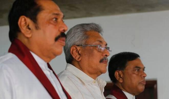 श्रीलंकामा भाइ राष्ट्रपति, दाइ प्रधानमन्त्री, काका-भतिजा मन्त्री