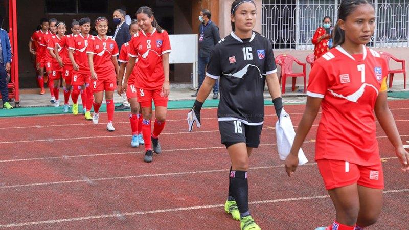 नेपाल एएफसी महिला एसियन कप २०२२ को छनोट अन्तर्गत पहिलो खेलमा फिलिपिन्ससंग २-१ ले पराजित