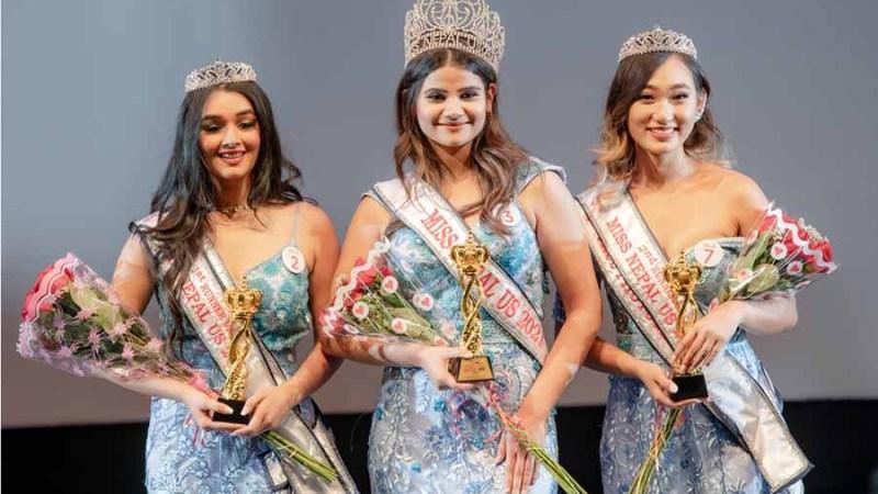 मिस नेपाल युएस २०२१' को उपाधि प्रतिक्षा शुक्लाले उचालिन