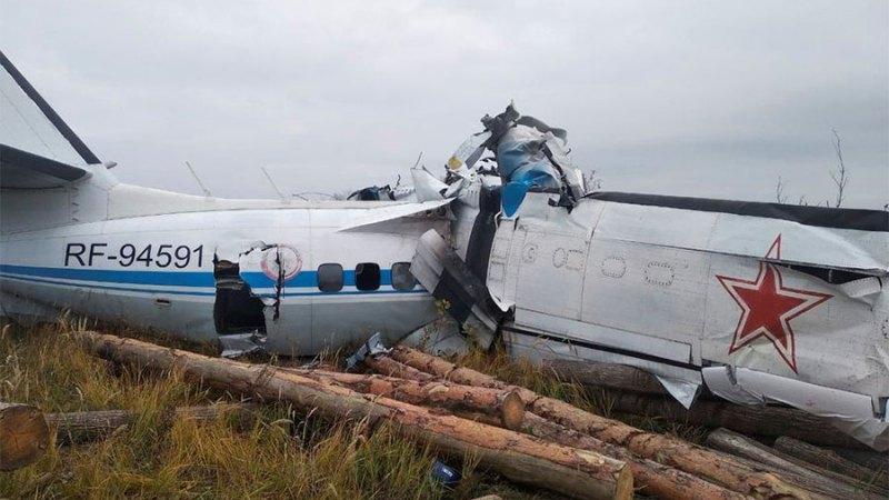 रुसको टाटस्र्टन क्षेत्रमा एक विमान दुर्घटना हुँदा कम्तीमा १५ जनाको मृत्यु