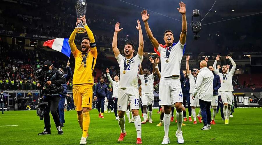 स्पेनलाई २-१ ले पराजित गर्दै युईएफए नेसन्स लिग २०२१ को उपाधि फ्रान्सले जित्यो