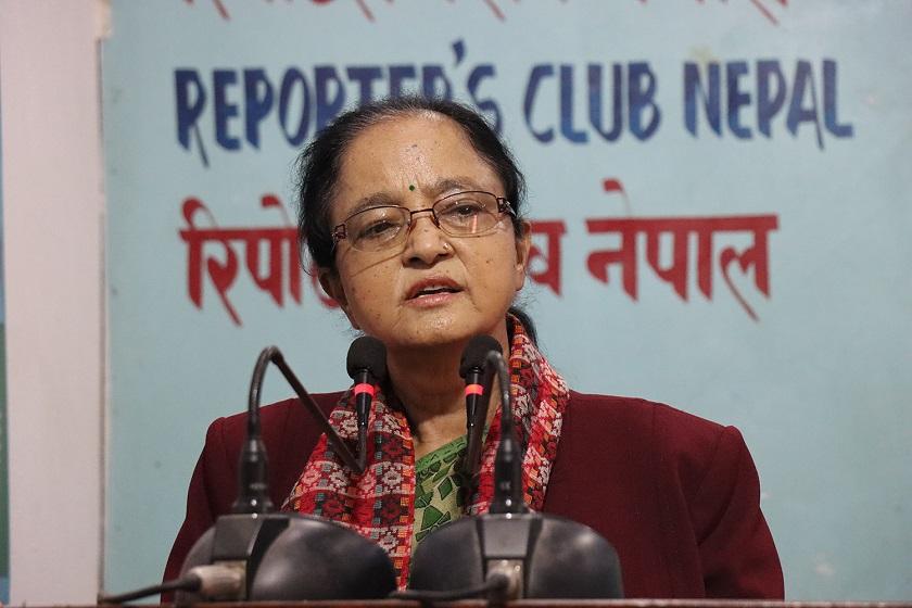 नेपालमा महिला प्रधानमन्त्री बन्न असम्भव छैन त्यो दिन नजिक हुँदै आएको छ