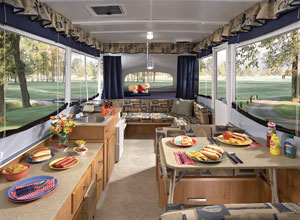kitchen dinette set unfinished base cabinets with drawers kadco camping center | rv dealer - sales, service ...