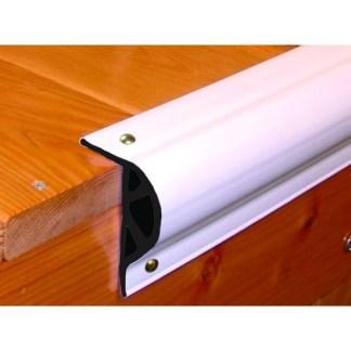 RR-HDLPW Rub Rail P Shape White 10' HD