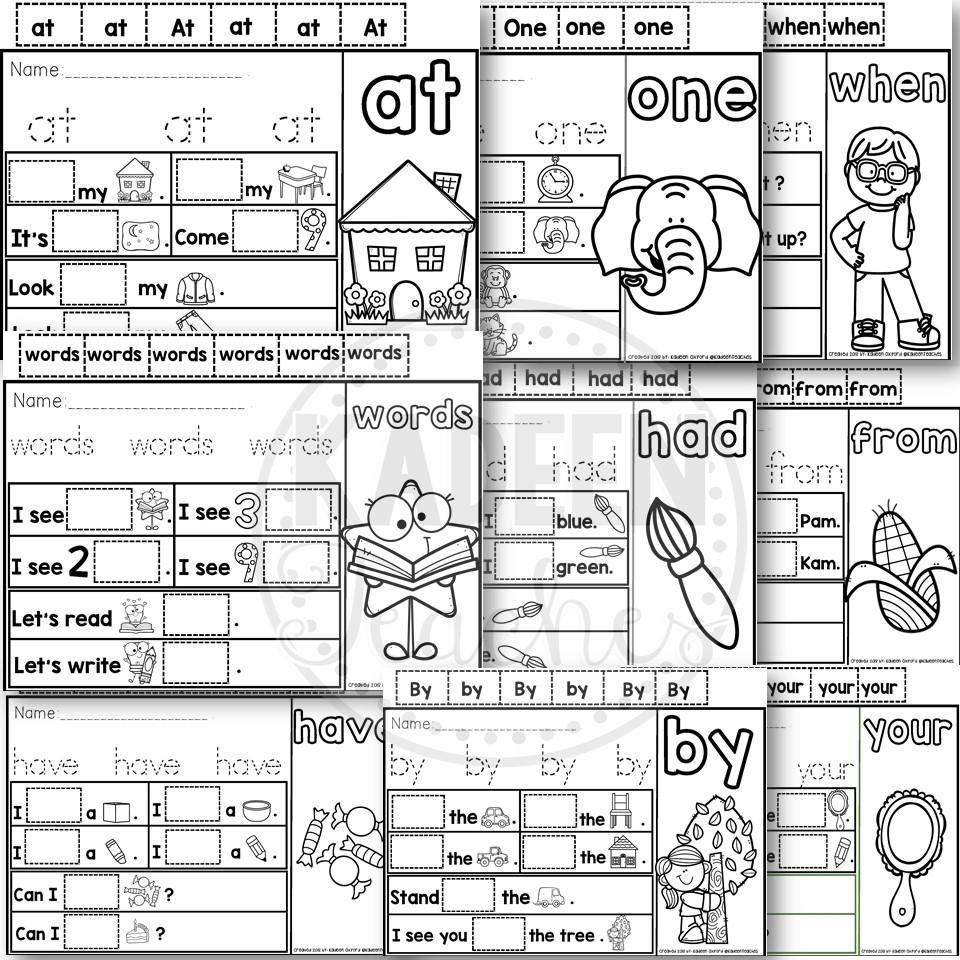 Kindergarten Interactive Mats Bundle