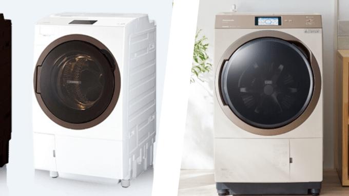 東芝 パナソニック ドラム式洗濯機 比較