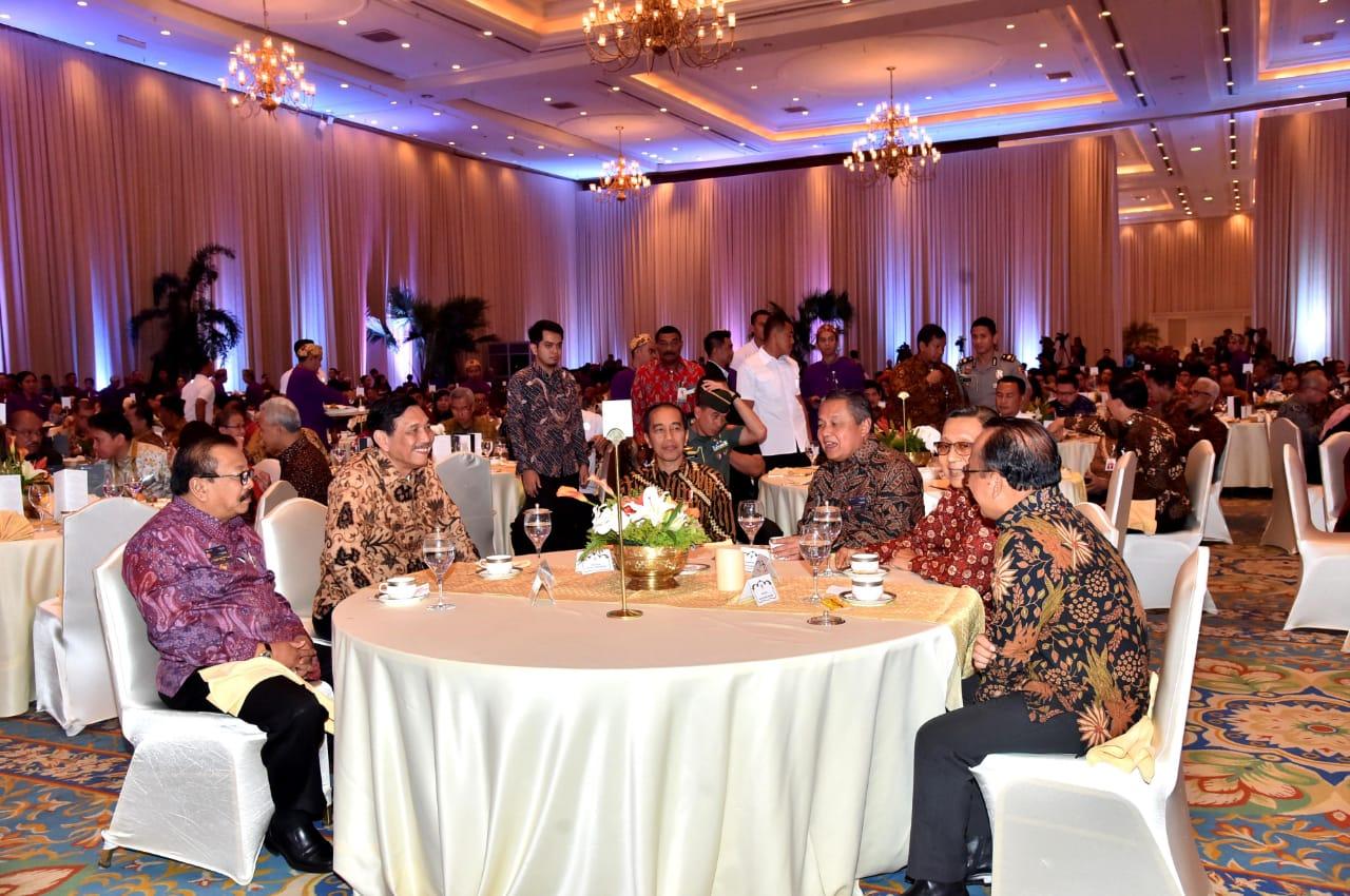 Hasil gambar untuk Pertemuan Tahunan BI 2018, di Assembly Hall JCC, Jakarta