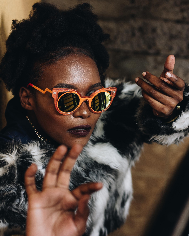 Kadenyi Fashion Blogger Kenyan Kenya Beauty Blogger Orange