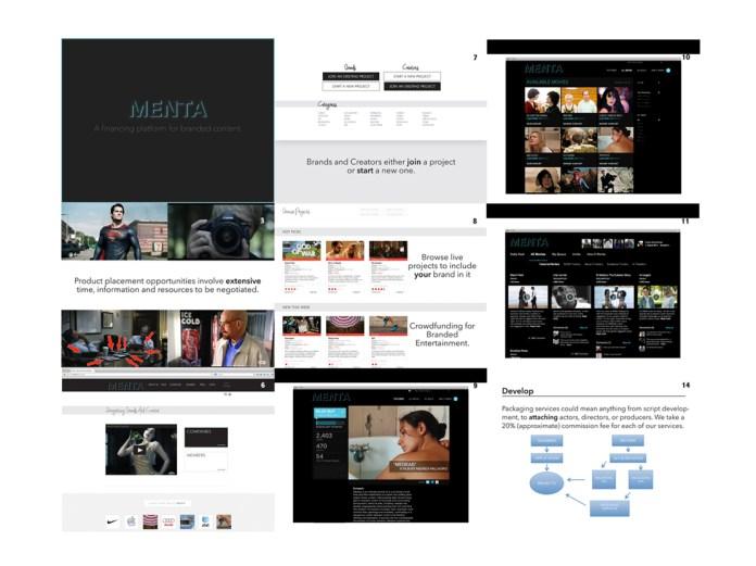 Menta Logo and Presentation