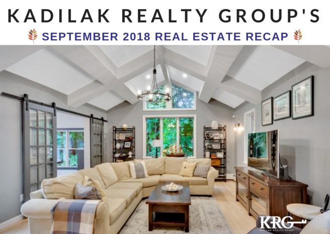 September 2018 Real Estate Recap