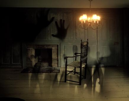 caption You especially want to light your house well if its haunted