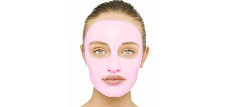 Sivilceler İçin Pembe Maske
