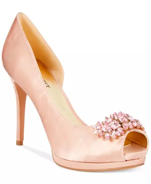 Nine West Finest Platform Evening Pumps