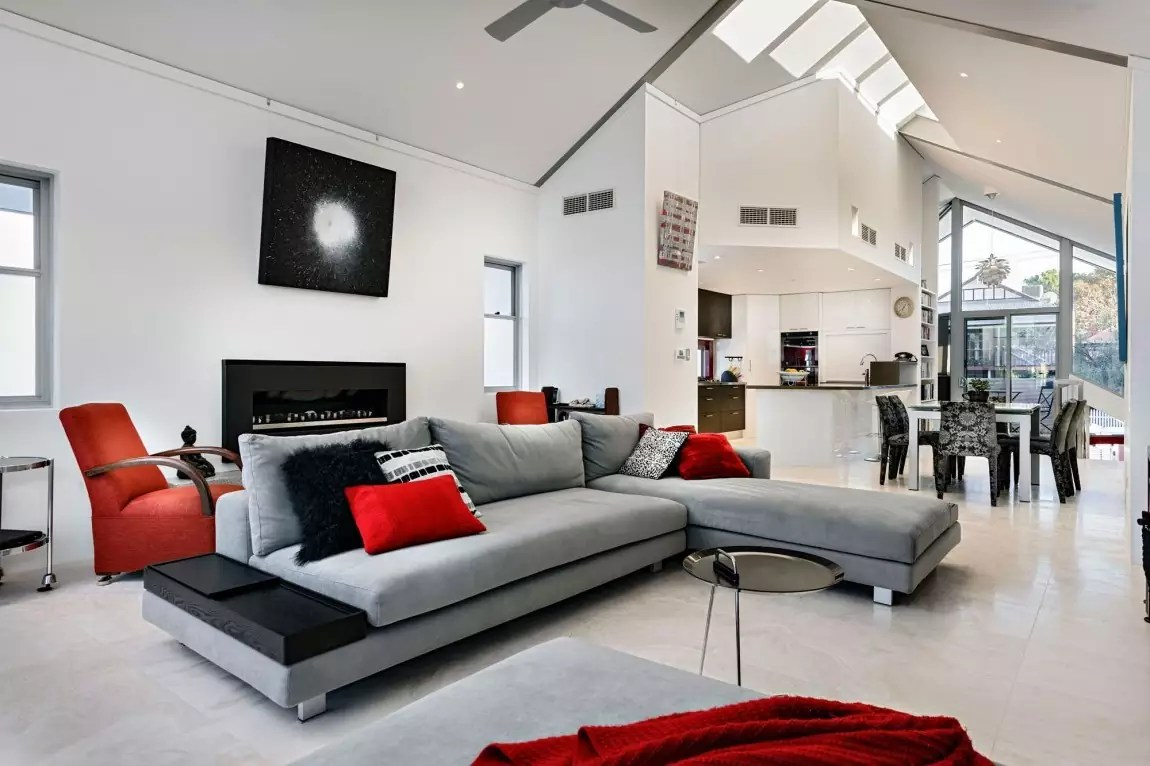 Open-Concept-Living-Room-Decorating-Ideas-With-Modern-Sectional-Sofa-1-White-2-Interior-Design-3-Living-Room-Interior-4-Living-Room-Decorating-5-Grey-L-Shaped-Sofa