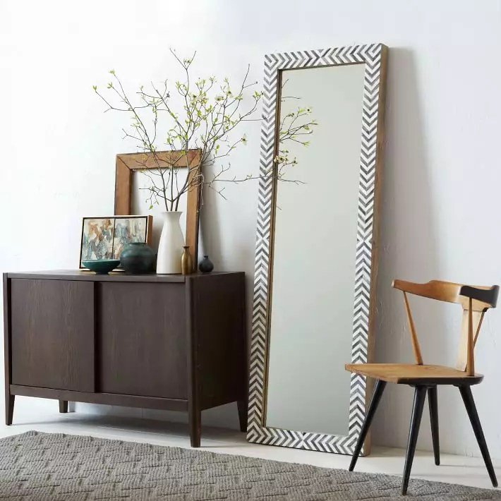 parsons-floor-mirror-gray-herringbone-o