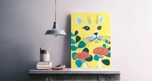 kedi temalı dekorasyon