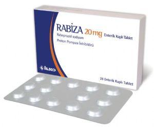 Rabiza 20 mg nedir ve ne için kullanılır?