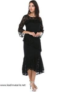 dantelli elbise modelleri 2019 1