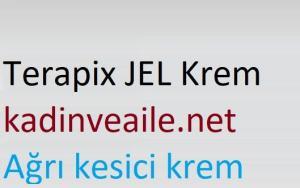 Terapix Jel Krem nedir ve ne için kullanılır?