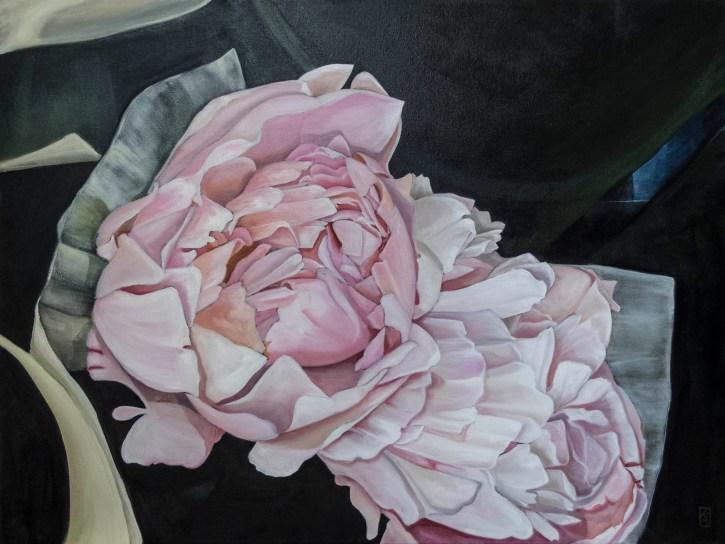 emergence,peony,kadira jennings,flowers,floral art