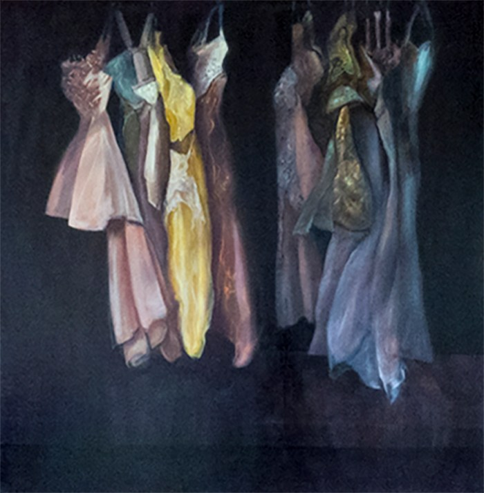 Dancing Into The Light,dark-night-of-the-soul,dresses,fabric
