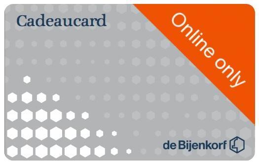 Bijenkorf cadeaukaart (digitaal) 100,00 euro