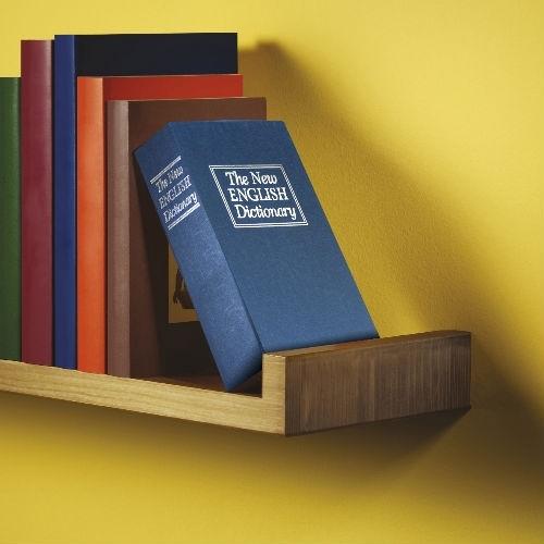 Boek met ingebouwde Kluis - Zwart