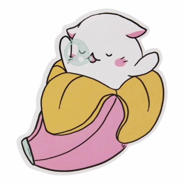 Frilly Pops Baby bananya - sticker