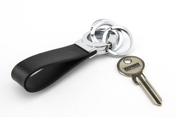 Troika Key Click Sleutelhanger Leer