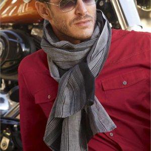 Black & Grey' sjaal