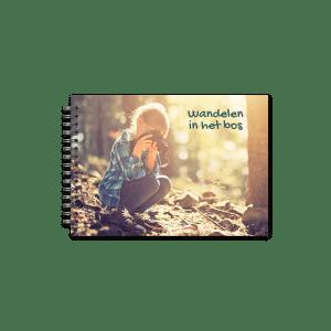 Fotoboek maken Spiraal A5 Liggend