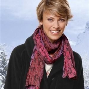 Gekleurde chèche-sjaal