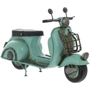 Vintage Scooter blauw