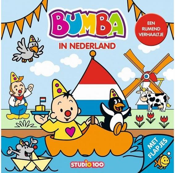 Studio 100 boekje met flapjes Bumba in Nederland