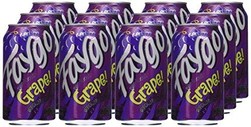 Faygo - Grape Soda 355ml 12 Blikjes