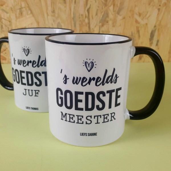 Gepersonaliseerde Mok S Werelds Goedste Juf Of Meester - Nutcrackers