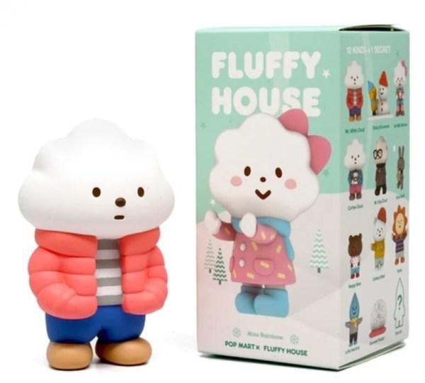 POP MART POP MART Fluffy House serie 2 (Winter) blind box