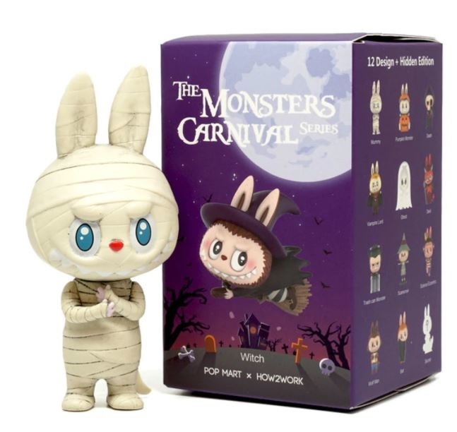 POP MART POP MART LABUBU (The Monsters Carnival) blind box