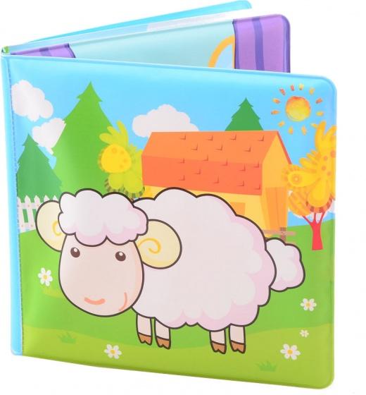 Johntoy Happy world badboekje boerderijdieren 14 cm