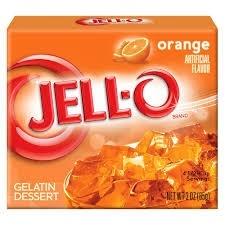 Jell-O Jell-O - Orange 85 Gram