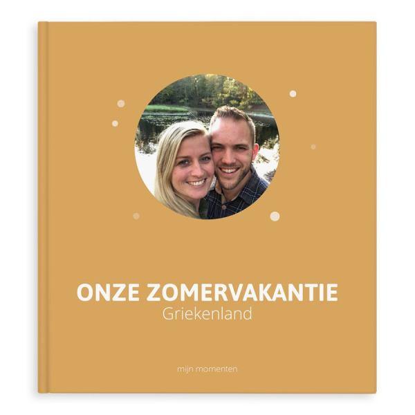 Momenten fotoboek maken - Onze zonvakantie - XL - Hardcover - 40 pagina's