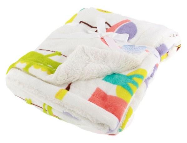 Soft Touch babydeken Flamingo 76 x 102 cm