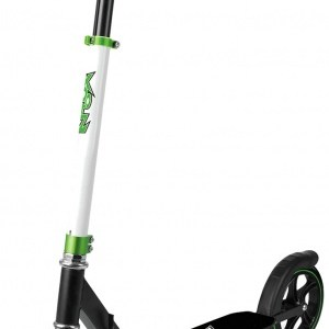 Xootz Xoo Large Wheeled stuntstep Junior Voetrem Wit/Zwart