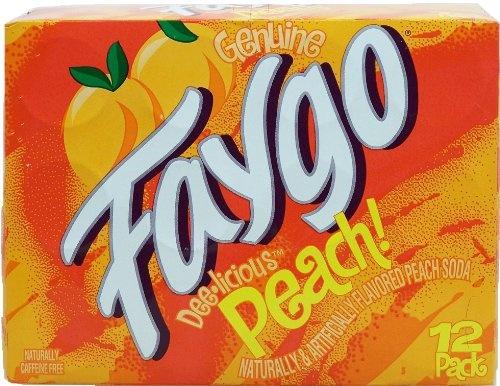 Faygo Faygo - Peach 355ml 12 Blikjes